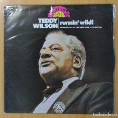 Discos de vinilo: TEDDY WILSON - RUNNIN´ WILD - LP. Lote 134313874