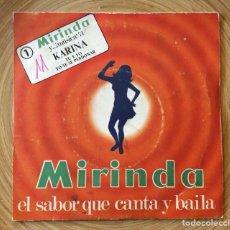 Discos de vinilo: KARINA DISCO MIRINDA DISCO EXCELENTE. Lote 134317926