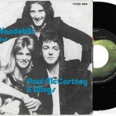Discos de vinilo: PAUL MCCARTNEY & WINGS (THE BEATLES): MRS. VANDEBILT / BLUEBIRD. Lote 262467640