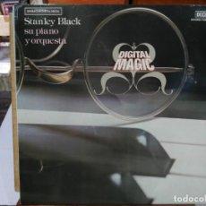 Discos de vinilo: STANLEY BLACK, SU PIANO Y ORQUESTA - DIGITAL MAGIC - LP. DEL SELLO DECCA DE 1979. Lote 134323402