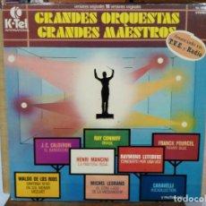 Discos de vinilo: GRANDES ORQUESTA, GRANDES MAESTROS - LP. DEL SELLO K-TEL INTERNACIONAL DE 1978 . Lote 134323954