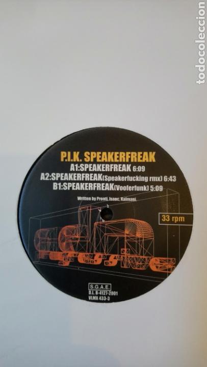 P.I.K.–SPEAKERFREAK . 33 RPM. HARD HOUSE. (Música - Discos - LP Vinilo - Techno, Trance y House)
