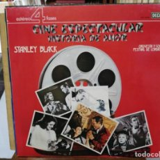 Discos de vinilo: CINE ESPECTACULAR HISTORIA DE AMOR, VOL. 5 - STANLEY BLACK - LP. DEL SELLO DECCA DE 1976. Lote 134328118