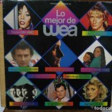 Discos de vinilo: LO MEJOR DE WEA - VERSIONES ORIGINALES, ARTISTAS VARIOS - LP. DEL SELLO WEA DE 1983. Lote 134328474