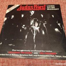 Discos de vinilo: JUDAS PRIEST -LIVING AFTER MIDNIGHT- (1980) MAXI-SINGLE. Lote 134337790