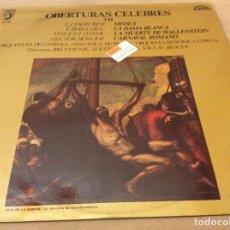Discos de vinilo: OBERTURAS CELEBRES - VOL. VII - SINFONICA PRAGA Y CHECA. DISCOPHON 1974. Lote 134341242