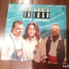 Discos de vinilo: TA LOGO-IN THE MORNING.MAXI. Lote 134342534
