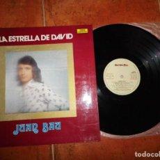 Discos de vinilo: JUAN BAU LA ESTRELLA DE DAVID LP VINILO DEL AÑO 1973 GATEFOLD CONTIENE 11 TEMAS NOVOLA PABLO HERRERO. Lote 134360998