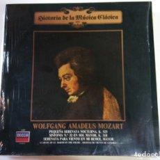 Discos de vinilo: DISCO VINILO. AMADEUS MOZART. HISTORIA DE LA MUSICA CLASICA.. Lote 134362070