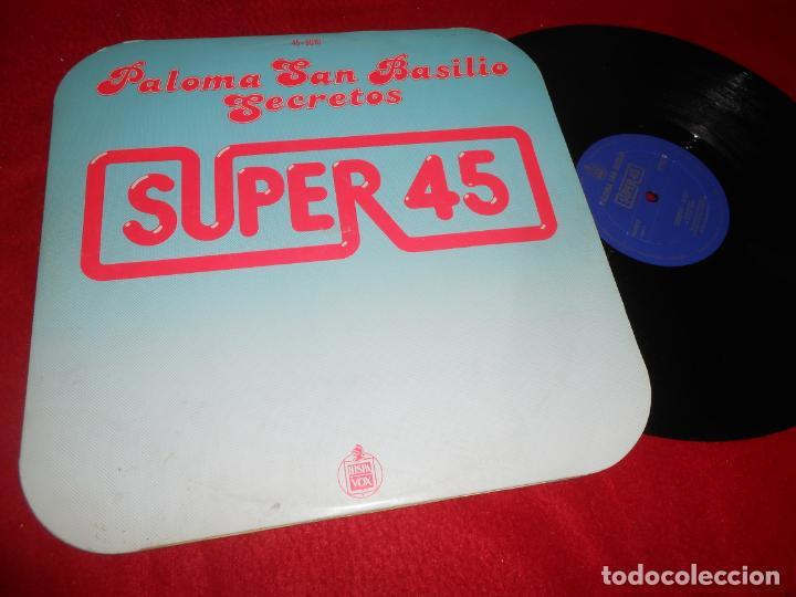 PALOMA SAN BASILIO SECRETOS/ATARDECER 12 MX 1978 HISPAVOX TRABUCCHELLI (Música - Discos de Vinilo - Maxi Singles - Solistas Españoles de los 70 a la actualidad)
