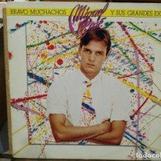 Disques de vinyle: MIGUEL BOSÉ - LOS GRANDES ÉXITOS DE MIGUEL BOSÉ - LP. DEL SELLO CBS DE 1982. Lote 134370458