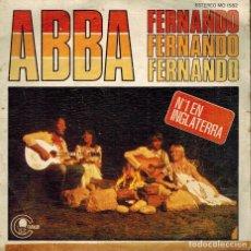 Discos de vinilo: ABBA. TEMAS: FERNANDO & INTERMEDIO Nº 1 - 1976. Lote 134370874