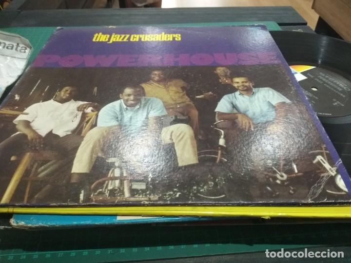 LP ORIG 1969 THE JAZZ CRUSADERS POWERHOUSE VG+/VG+ MUY BUEN SONIDO (Música - Discos - LP Vinilo - Jazz, Jazz-Rock, Blues y R&B)