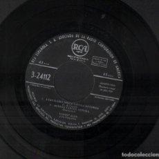 Discos de vinilo: GIANNI ALES - LA FATA DEL FAR WEST / I LOVE YOU, FORESTIERA / I CAVALIERI DE LA TAVOLA ROTONDA ...EP. Lote 134375470
