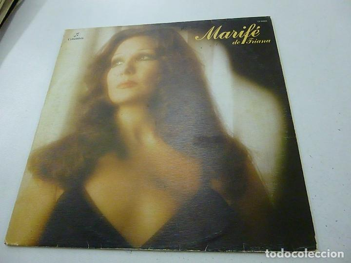 MARIFE DE TRIANA -REJON DE MUERTE -LP - (Música - Discos - LP Vinilo - Flamenco, Canción española y Cuplé)
