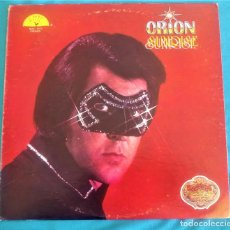 Discos de vinilo: ORIÓN - SUNRISE - LP - EDITADO EN USA, 1979 SUN RECORDS;VINILO DORADO. Lote 134408442