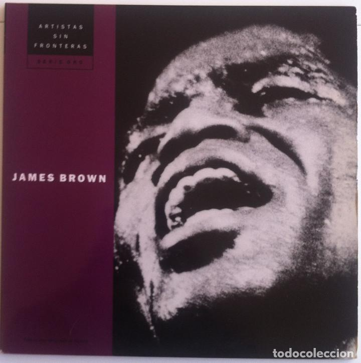 JAMES BROWN - THE BEST OF/LOVE OVER DUE - 2 LP CÍRCULO DE LECTORES 53405 1977 ED.ESPAÑOLA, (Música - Discos - LP Vinilo - Jazz, Jazz-Rock, Blues y R&B)