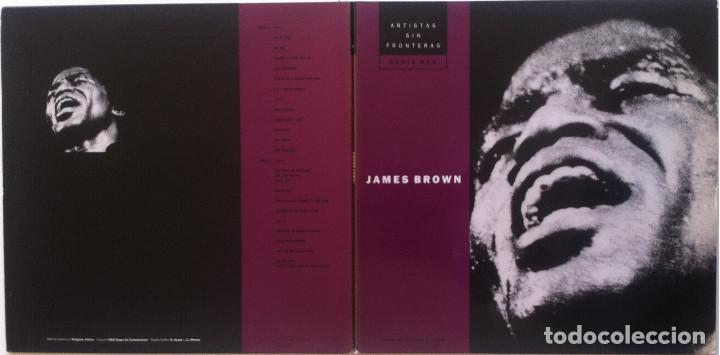 Discos de vinilo: James Brown - The best of/Love over due - 2 LP Círculo de Lectores 53405 1977 Ed.española, - Foto 4 - 134453526