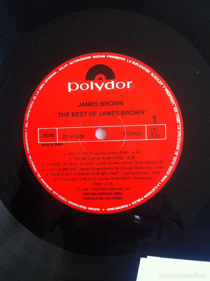 Discos de vinilo: James Brown - The best of/Love over due - 2 LP Círculo de Lectores 53405 1977 Ed.española, - Foto 7 - 134453526