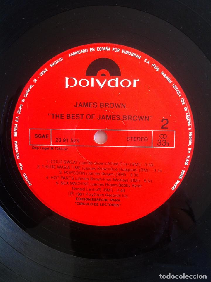 Discos de vinilo: James Brown - The best of/Love over due - 2 LP Círculo de Lectores 53405 1977 Ed.española, - Foto 8 - 134453526