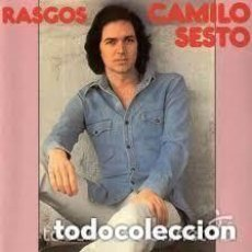 Discos de vinil: CAMILO SESTO - RASGOS LP CARPETA ABIERTA CON FOTO INTERIOR 1977. Lote 134476954