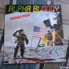 Discos de vinilo: ALPHA BLONDY LP REVOLUTION 1988 REGGAE RARO. Lote 134491762