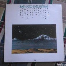 Discos de vinilo: BATTIATO LP L'ARCA DE NOE 1983 CON ENCARTE. Lote 134493167
