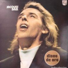 Discos de vinilo: JACQUES BREL . Lote 134493714