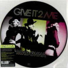 Discos de vinilo: MADONNA - GIVE IT 2 ME - MAXI SINGLE 12' PICTURE DISC. Lote 134505422