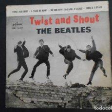 Discos de vinilo: VINILO SINGLE DE THE BEATLES AÑO 1963. Lote 134510890