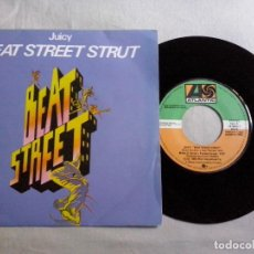 Discos de vinilo: MUSICA SINGLE: JUICY-BEAT STREET STRUT (ABLN). Lote 134525994