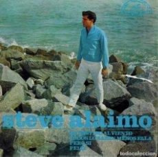Discos de vinilo: STEVE ALAMO. TEMAS: MI DESTINO AL VIENTO & PERO SI & TODOS LO SABEN MENOS ELLA & FELIZ. Lote 134542042