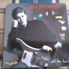 Discos de vinilo: PAUL MCCARTNEY LP DOBLE ALL THE BEST 1987 BEATLES LENNON. Lote 151970666