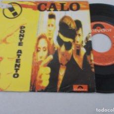 Discos de vinilo: CALO. PONTE ATENTO.. Lote 134557698
