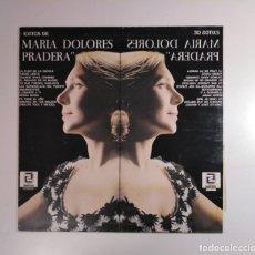 Discos de vinilo: EXITOS MARIA DE MARIA DOLORES PRADERA. - LP. TDKDA29. Lote 134562854