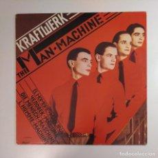 Discos de vinilo: KRAFTWERK.- THE MAN MACHINE. LP. TDKDA29. Lote 134575462