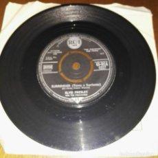 Discos de vinilo - Elvis presley surrender single lonely man - 134602034