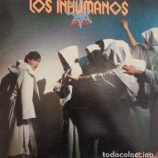 Discos de vinilo: LOS INHUMANOS - MANUE - MAXI SINGLE DE VINILO. Lote 134631162