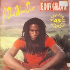 Discos de vinilo: EDDY GRANT-I DO NOT WANNA DANCE. Lote 134637326