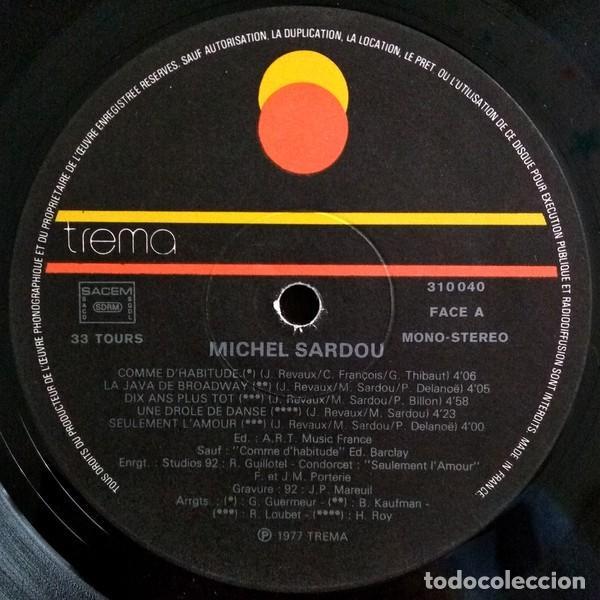 Discos de vinilo: Michel Sardou ?– Michel Sardou (France, 1977) - Foto 2 - 134711270