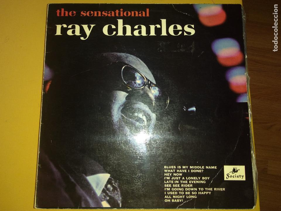 LP RAY CHARLES (Música - Discos - LP Vinilo - Jazz, Jazz-Rock, Blues y R&B)