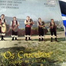 Discos de vinilo: E P (VINILO) DE OS CRUCEIROS AÑOS 60. Lote 147888825