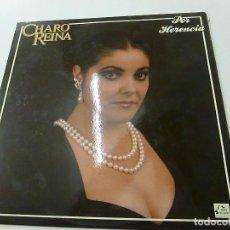 Discos de vinilo: CHARO REINA -POR HERENCIA -LP -N. Lote 134744558