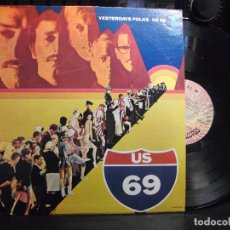 Disques de vinyle: US 69 YESTERDAYS FOLKS LP USA 1969 PEPETO TOP. Lote 134744662