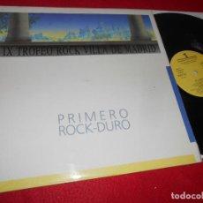 Discos de vinilo: POLVO MAGICO VIVIRE/VOY A ROMPER MI CIUDAD +2 MX 12 1986 HARD ROCK VILLA DE MADRID. Lote 134749578