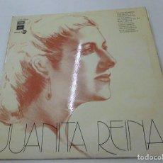 Discos de vinilo: JUANITA REINA-LA NIÑA DE BRONCE-LP-N. Lote 134751218