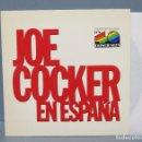 Discos de vinilo: LP. JOE COCKER EN ESPAÑA. Lote 134754342