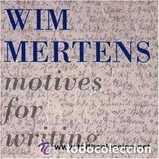 Discos de vinilo: WIM MERTENS ( MOTIVES FOR WRITING ) LP 1989 ESPAÑA. Lote 134764662