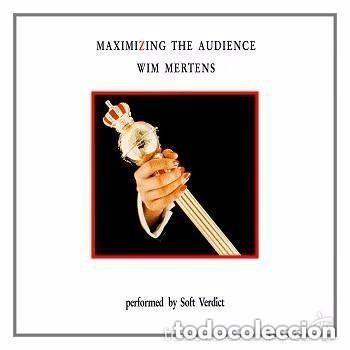 WIM MERTENS - MAXIMIZING THE AUDIENCE - DOBLE LP SPAIN 1985 (CARPETA ABIERTA) (Música - Discos - LP Vinilo - Electrónica, Avantgarde y Experimental)