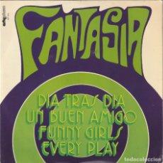 Discos de vinilo: FANTASIA - DIA TRAS DIA + 3 (EP ARTYPHON 1973) VINILO COMO NUEVO. Lote 134767718